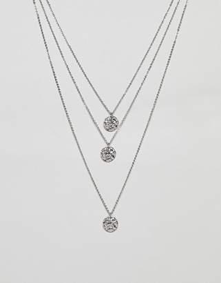 NY:LON multi layered necklace