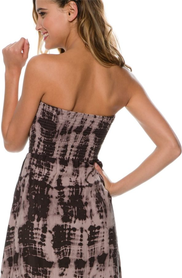 Volcom Jungle Jam Strapless Dress