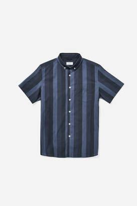 Saturdays NYC Esquina Button Down Gradient Shirt