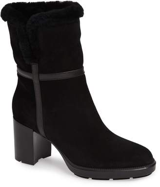 Aquatalia Isolda Genuine Shearling Weatherproof Boot