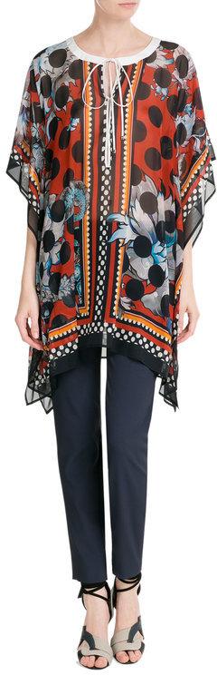 Roberto CavalliRoberto Cavalli Printed Silk Tunic