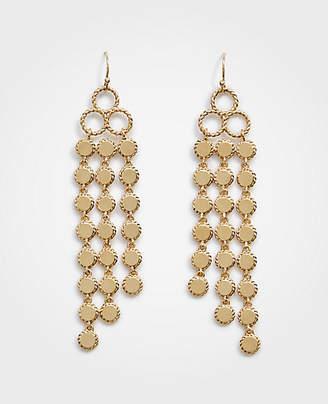 Ann Taylor Disc Linear Statement Earrings