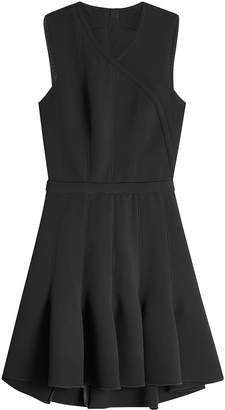 Carven Dress with Pleated Skirt