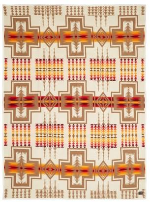 Pendleton Harding Jacquard Wool Blend Blanket - Multi