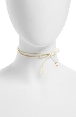 Women's Baublebar Blanche Tie Choker $32 thestylecure.com