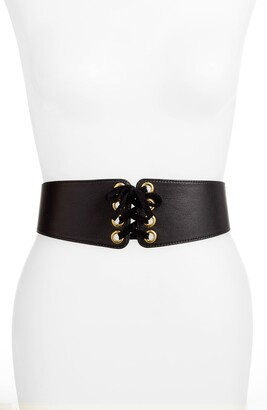 Raina Leather Corset Belt