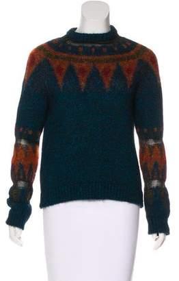 Philosophy di Alberta Ferretti Metallic Knit Sweater