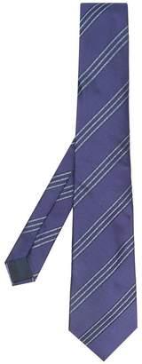 Lanvin diagonal striped tie