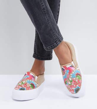 Asos DESIGN Dana Embroidered Sneakers