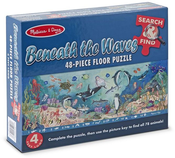 Melissa & Doug 48-pc. Search & Find Beneath the Waves Floor Puzzle