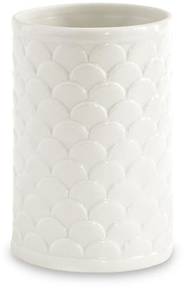 Kassatex Scala Porcelain Tumbler - White