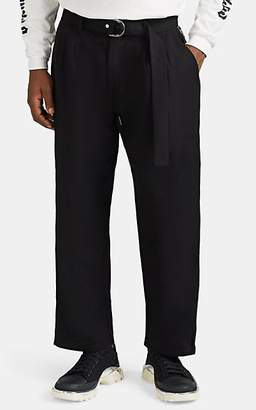 Stampd Men's Berlin Zip-Detailed Pleated Trousers - Black