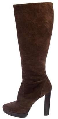 MICHAEL Michael Kors Suede Mid-Calf Boots
