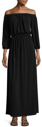 French Connection Adele Draped Maxi Dress