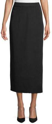 Misook Long Straight Skirt, Plus Size