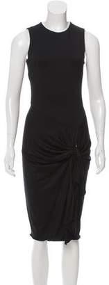 Cushnie et Ochs Knot-Accented Midi Dress
