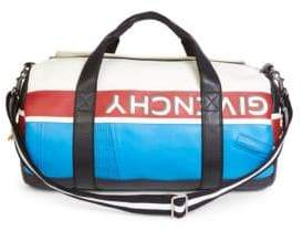 Givenchy Colorblocked Leather Duffel Bag