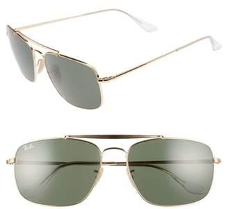 Ray-Ban The Colonel Square 61mm Sunglasses