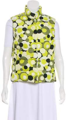 Moncler Printed Puffer Vest