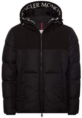 Moncler Montclar Down Jacket with Logo Hood