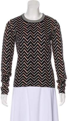 Apiece Apart Patterned Knit Sweater
