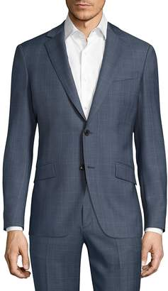 Theory Men's Malcolm Camley Slim-Fit Wool Jacket
