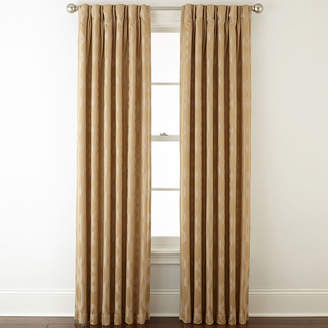 Liz Claiborne Simone Pinch-Pleat/Back-Tab Curtain Panel