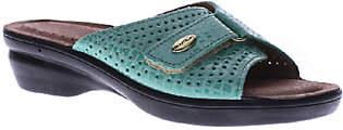 Spring Step Flexus by Slide Wedge Sandals - Carrie