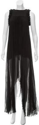 Alexis Beaded Sleeveless Dress w/ Tags