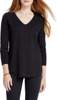 Nic+Zoe Vital V-Neck Sweater