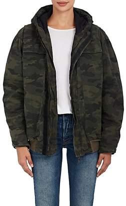 Ben Taverniti Unravel Project Women's Camouflage Ripstop Cotton Bomber Jacket