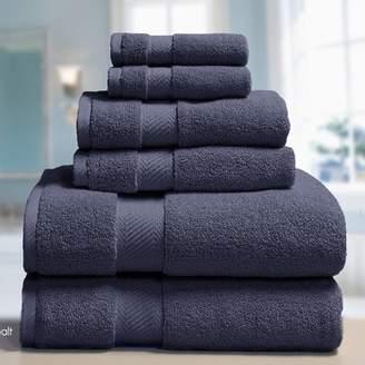 Elle Decor Low Twist Weave 6 Piece Towel Set