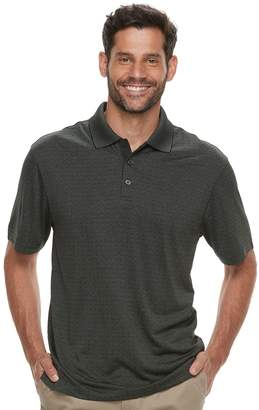 Haggar Men's Cool 18 Regular-Fit Performance Micro Square Polo