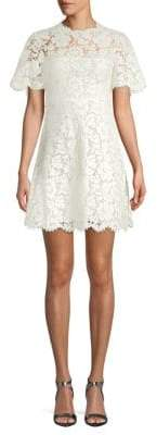 Valentino Lace A-Line Dress