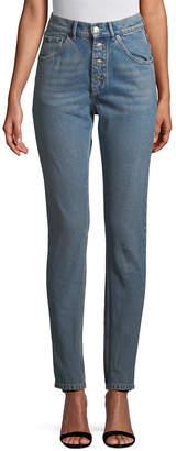Balenciaga High-Waist Skinny Pant