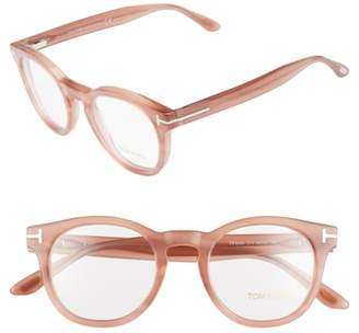 Tom Ford 48mm Round Optical Glasses