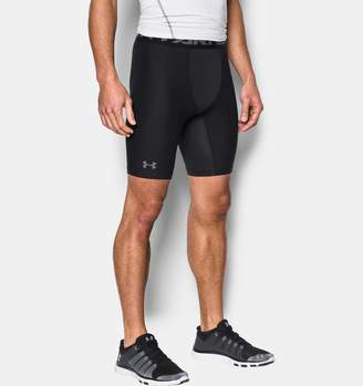 Under Armour Men's HeatGear Armour Long Compression Shorts