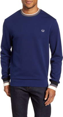 Fred Perry Tipped Crewneck Sweatshirt
