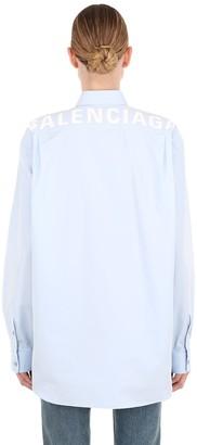 Balenciaga (バレンシアガ) - BALENCIAGA コットンポプリンシャツ