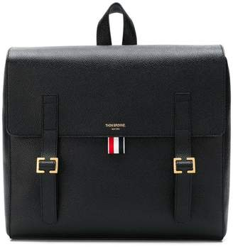 Thom Browne Unstructured Leather Book Bag