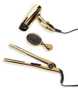 "Chi Air Classic Hairstyling 1"" Iron with Mini Dryer & Mini Brush"