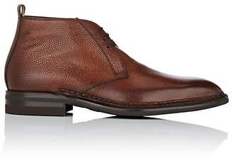 di Bianco Men's Burnished Leather Chukka Boots