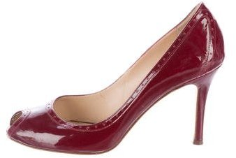 Kate Spade Kate Spade New York Patent Leather Peep-Toe Pumps