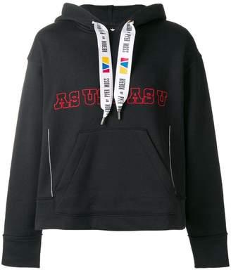 Pyer Moss Reebok By slogan hooded sweatshirt