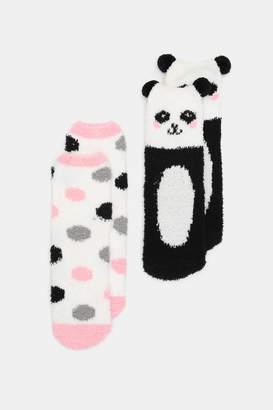 Ardene Pack of Panda Socks