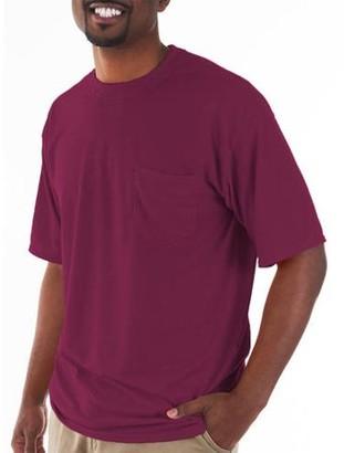 Gildan Big and Tall Men's Classic Short Sleeve T-Shirt with Pocket