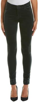 J Brand Maria Moorland High-Rise Velvet Skinny Leg