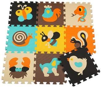Menu Life P010 Soft Foam Play Mat Interlocking EVA Soft Jigsaw Puzzle Foam Baby Child Play Area Yoga Exercise Mats