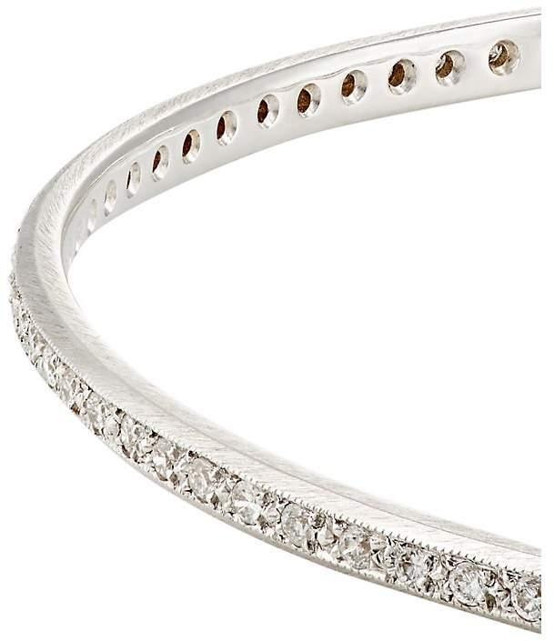 Irene Neuwirth Women's White Diamond Bangle
