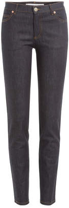 Valentino Straight Leg Jeans with Rockstuds
